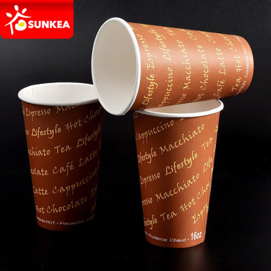 Vending Machine 8.25oz 9oz Coffee Paper Cup pictures & photos