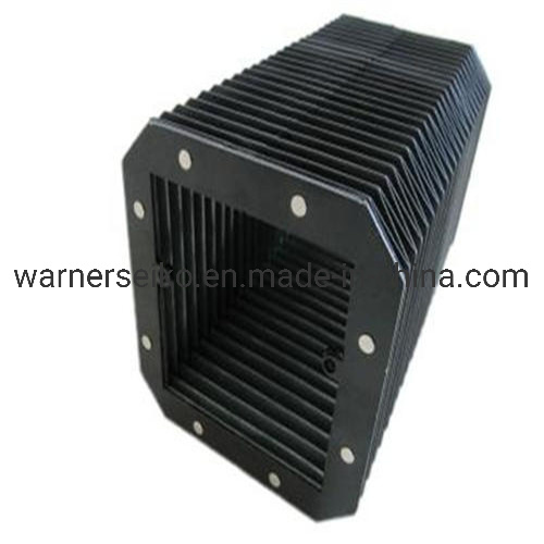 Flexible Machine Accordion CNC Bellows Cover with Special Materials