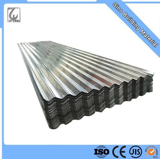 Building Material Galvanized Corrugated Roofing Steel Iron Sheet