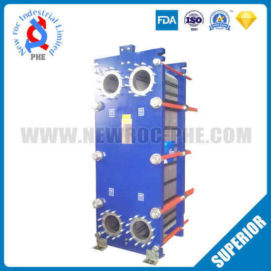 Titanium Plate Gasket Plate Heat Exchanger for Swimming Pool Equipment