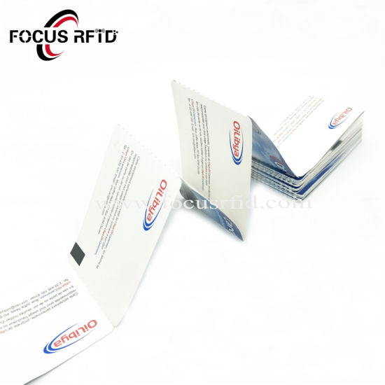China Cheap Cost RFID E-Ticket Card Smart Tag ID IC Key Card