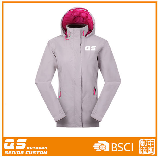 Women Waterproof Windproof Breathable Ski Jacket pictures & photos