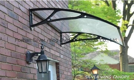 Outdoor Transparance Canopy Used Awning With Aluminum Bracket (YY F)