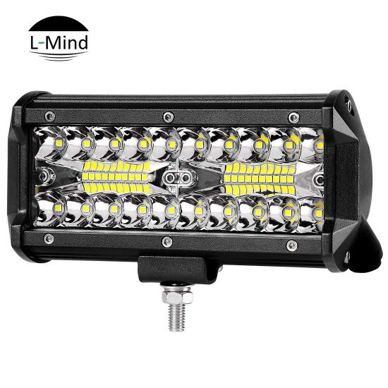 Wholesale Factory Price Best 7 Inch 60W 6000 Lume Truck Mounted LED Work Lights Bar