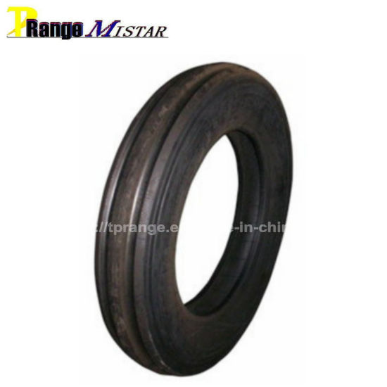 Tractor Front Tire/F2 Farm Tires/3 Rib Agricultural Tractor Tyres (4.00-12, 4.00-14, 4.00-16, 5.00-15, 5.50-16, 6.00-16, 6.50-16, 6.50-20, 7.50-16, 7.50-20)