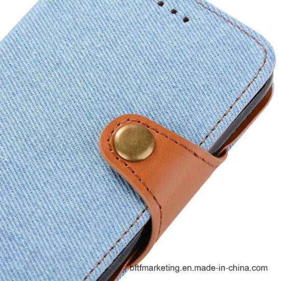Detachable 2in1 Magnetic Jeans Mobile Phone Case for Samsung S8 pictures & photos