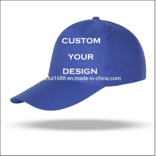 Custom Logo Baseball Cap, Fashion Hats, Sport Caps, Golf Hat, Hats for Volunteers, Caps for Men, Adjustable Plain Hat