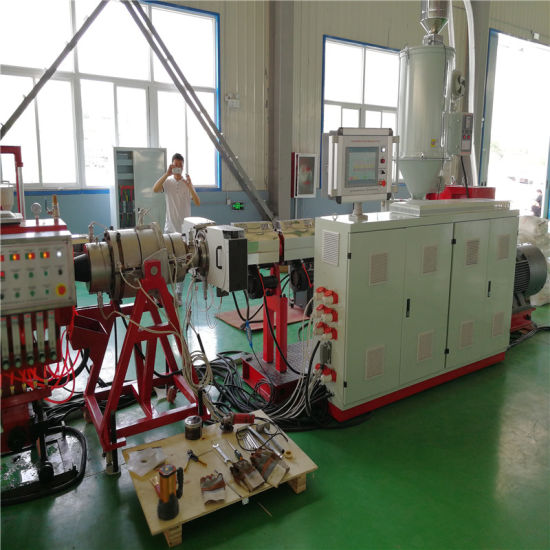 Co-Extrusion HDPE Water Gas Pipe Extrusion Line Making Machine