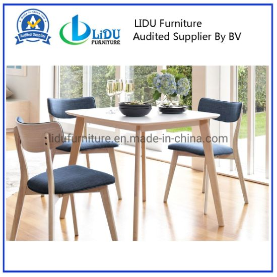 Solid Oak Dining Chair Mid Century, Dining Room Chair Foot Pads