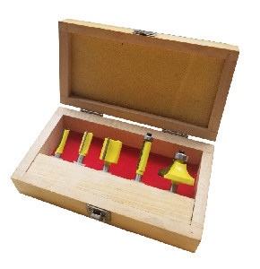 Woodworking Tools - 5PCS Tct Router Bit Set C