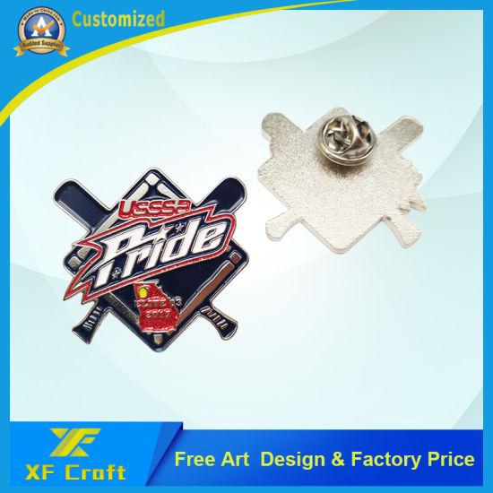 Professional Customized Soft Enamel Anniversary Award Decoration Accessories Souvenir Emblem Metal Debossed Craft Promotion Gift Logo Lapel Pin Badge (BG43)