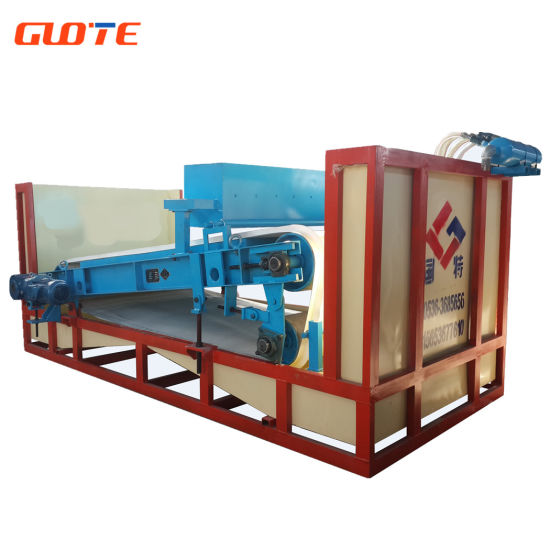 Flat Magnetic Separator with High Field Intensity for Silica Sand