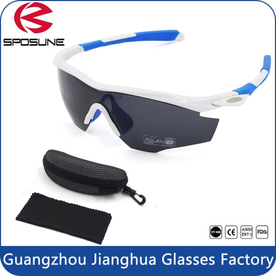 9621d5d8d7e Factory Hot Seller Unbreakable Tr90 Frame Anti-Glare Polarized Sports  Sunglasses with Case pictures