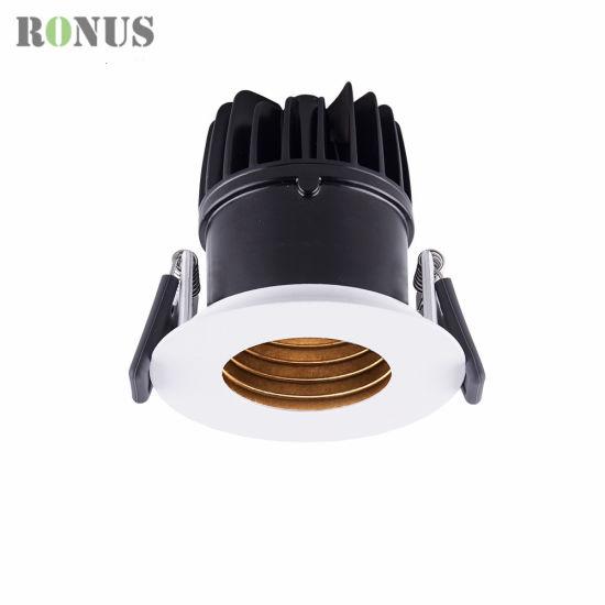 Luxury LED COB Spotlight Anti-Glare 7/10/15W Spot Light Lamp Ceiling Indoor Lighting Downlight
