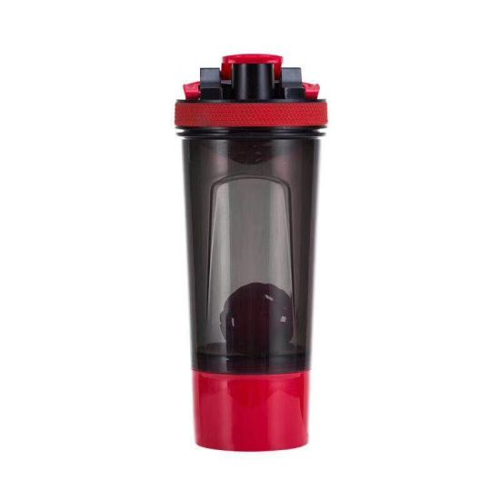 2019 Hot Sell Plastic Shaker Bottle for Drinking with 3layers/2layers