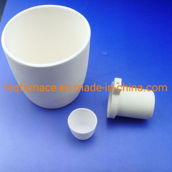 Ceramics High Pure Lab Alumina Ceramic Crucible, High Density Slip Casting Corrosion Resistance Alumina Ceramic Crucible