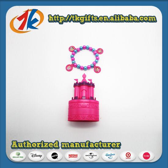 Charm Bracelet and Castle Trinket Box for Girls