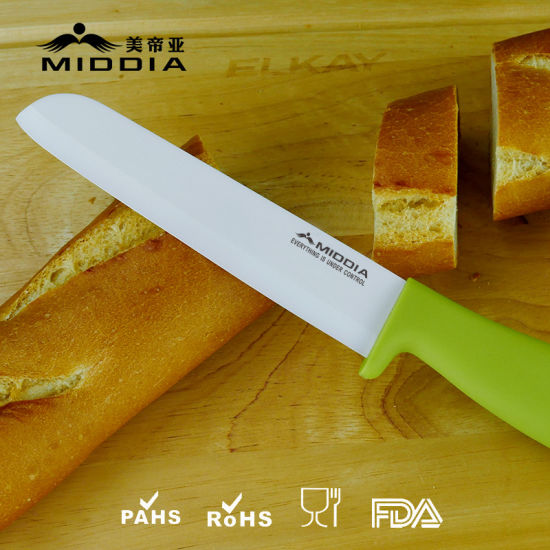 Razor Sharp Ceramic Bread Knife From Biggest China Manufacturer pictures & photos