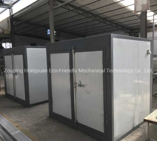 Curing Oven for Powder Coating Application Use with Electric Heaters