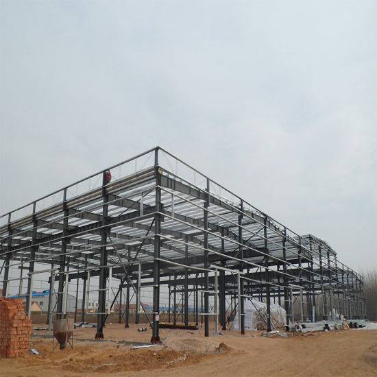 Prefabricated 3 Story Warehouse with High Quality