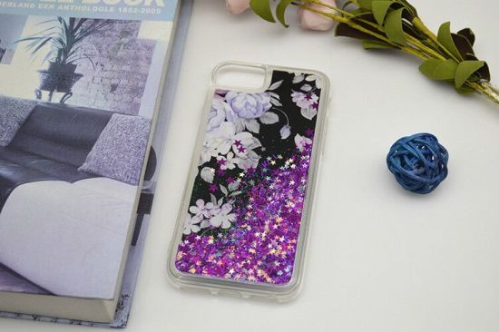 Meteor Shower Liquid Bling Phone Case Sparkle Glitter Cases for Samsung pictures & photos