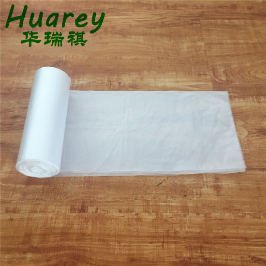 China Manufacturing Construction Biodegradable HDPE LDPE Plastic Garbage Plastic Bag Black with Eco Black Plastic Trash