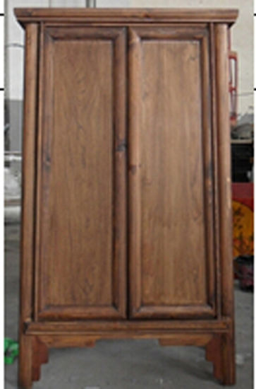 Chinese Antique Furniture Elm Wood Cabinet