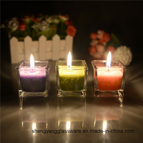 Free Sample Wholesale Tea Light Decorative Scented Candle Jar pictures & photos