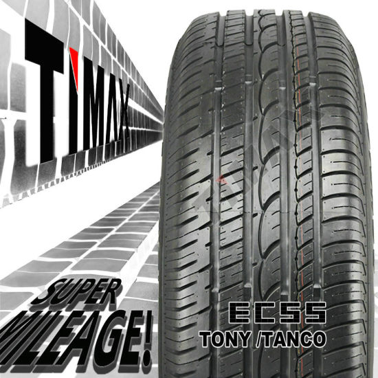 Passenger Car Radial Tire, LTR, Light Truck Tire, Van Tire (175/70R13, 185/60R14, 195/50R15, 195/65R15, 205/55R16, 205/40R17)
