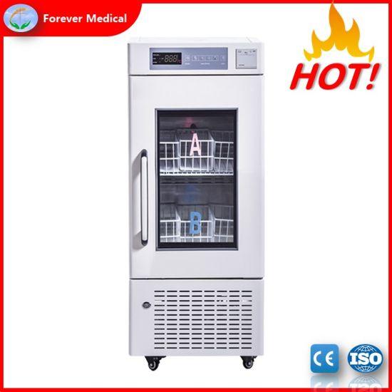 High Quality Medical Used Upright Blood Bank Refrigerator (BBR110)