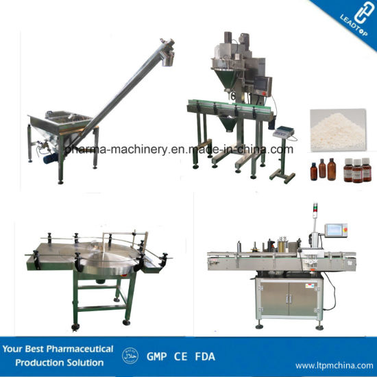 Bottle Granules Filler and Capping Production Line /Turnkey