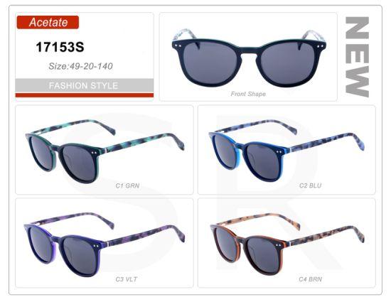de2330d14ad New Fashion Model Stock Wholesale Small Order Acetate Frame Sunglasses