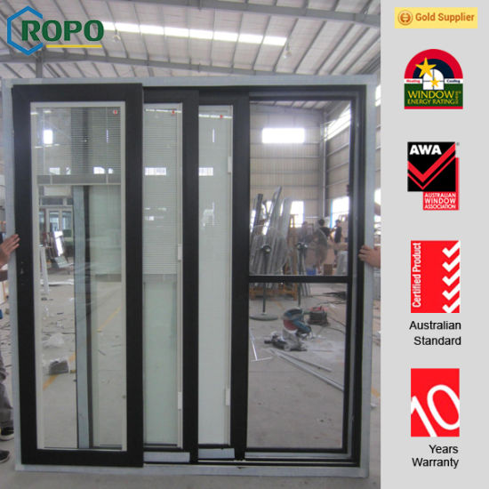 China Commercial Glass Entry Doors Sliding Door Design China