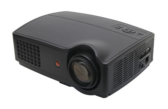 2016 Shenzhen Powerful Hot Sale Sv-328 LED Projector, Wholesale The Lowest Price 1280*800 LED Projector pictures & photos