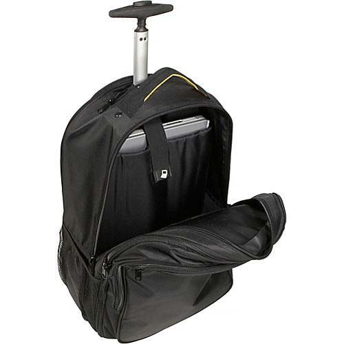 Double Shoulders Business Travel Wheeled Trolley Laptop Bag Backpack pictures & photos