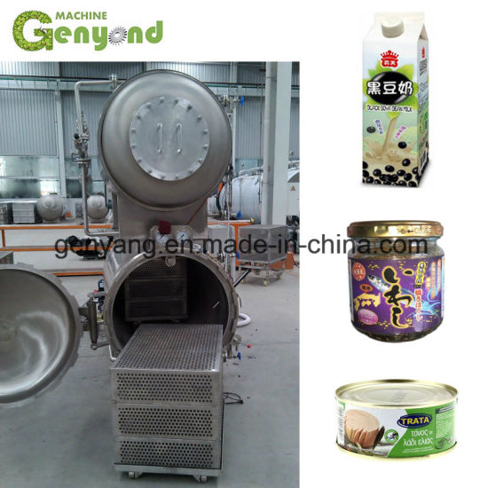 High Pressure Retort Autoclave for Plant Vegetable Protein Beverage Drink pictures & photos