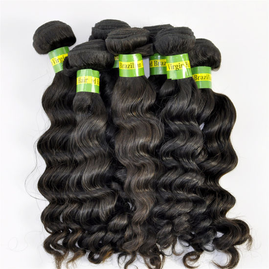 New Styles Natural Human Hair Weave Deep Wave Brazilian Virgin Hair Extensions Lbh 102 pictures & photos