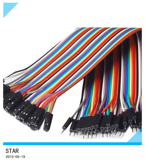 china 30cm dupont colorful idc wire connector color jumper cable rh starconnect en made in china com