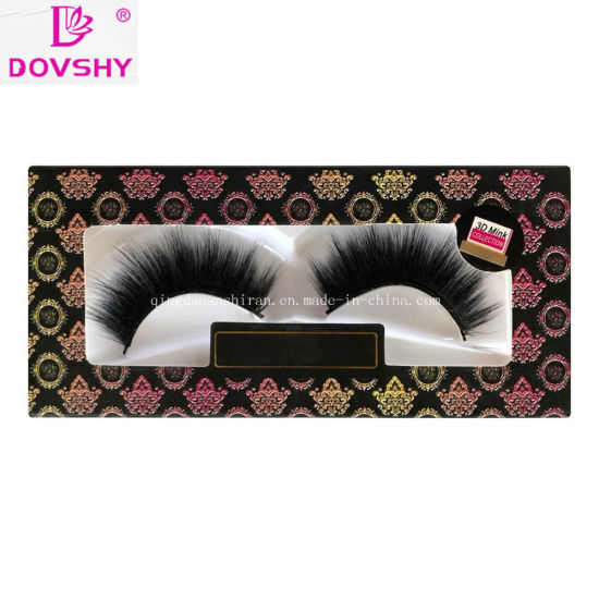 c53dc41e4d4 OEM Handcrafted Soft Synthetic False 3D Silk Eyelashes with Wholesale Price
