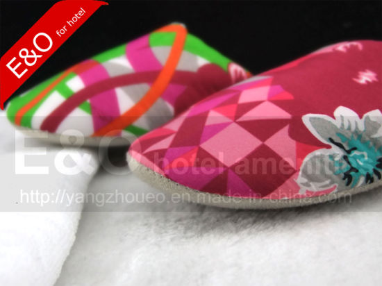 Quality Bedroom Printing Beautiful Lady Slipper Shoe