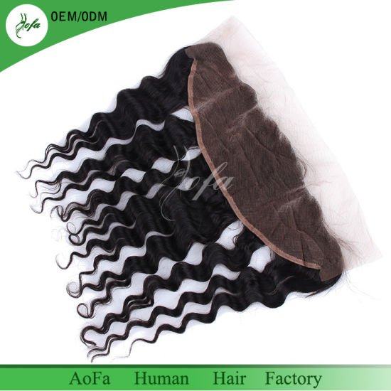 Long Chinese Manufacturer Brazilian Human Virgin Hair Frontal pictures & photos
