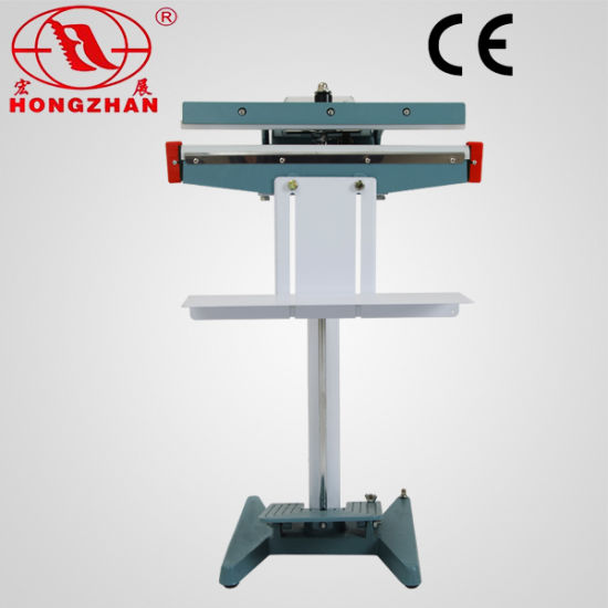 China Portable Pedal Sealing Machine with 300/400/500mm Impulse