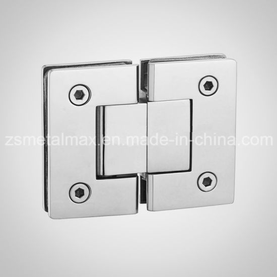 Brass 180 Degree Glass Clamp Shower Door Hinge (YH105)