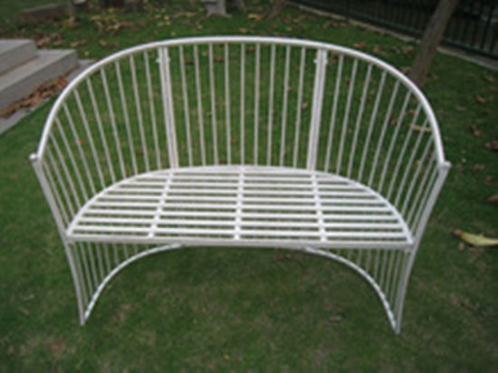white iron garden furniture. Hot Sale Folding White Wrought Iron Garden Bench Furniture T