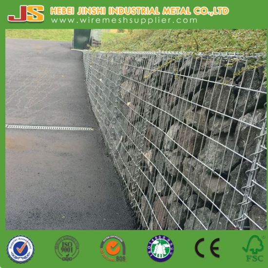 Factory Supply Hot Dipped Galvanized Wire Gabion Cage Gabion Basket with CE Certification