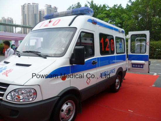 Iveco Hospital Transport Vehicle Ambulance (4YCHJX2405GLX)