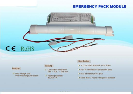 2016 Newest Emergency Conversion Kit for Fluorescent Lamp (PRT70W)