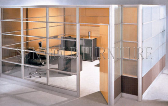 China Modern Cheap Glass Barrier Low Used Office Room Dividers (SZ ...