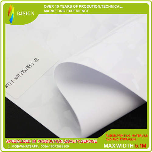 3D PVC Cold Laminating Film with Adhesive for Home Decoration pictures & photos