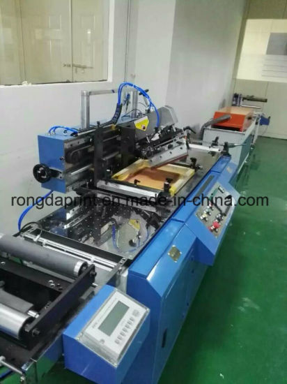 Screen Printing Machine for Garment Label
